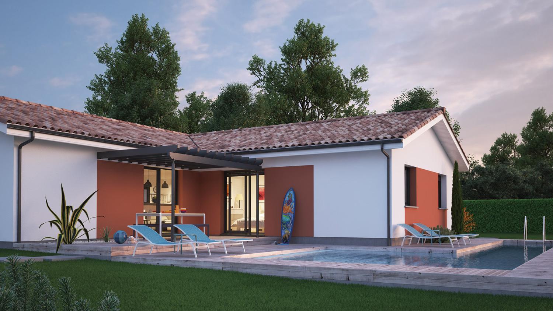 Mod le de maison villa mae for Modele de villa