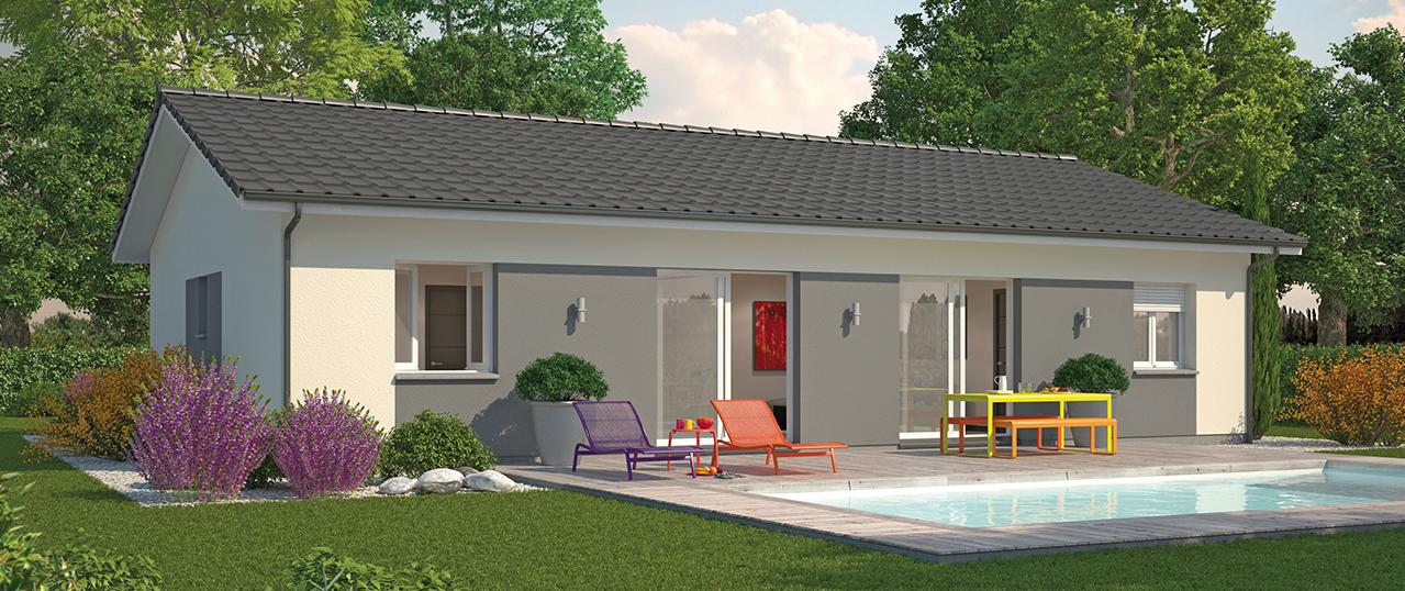 Modele de couleur de facade de maison cool nexthome for Modele couleur facade maison