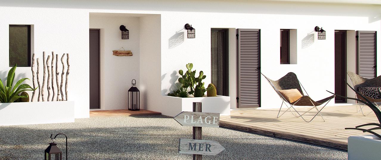 Modèle de maison : Villa Patio